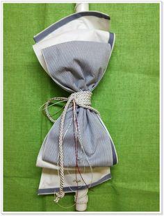 Χειροποίητη λαμπάδα βάπτισης με περίτεχνο δέσιμο. Παρέχεται η δυνατότητα αλλαγής χρωματισμού ή προσθήκης διακοσμητικού στοιχείου. Drawstring Backpack, Fashion Backpack, Bags, Handbags, Bag, Totes, Hand Bags
