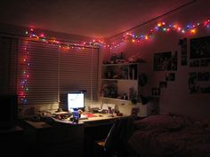 Cool dorm lighting Ceiling How To Light Your Dorm Room With Christmas Lights And Paper Lanterns Pinterest 39 Best College Room Lights Images In 2019 Dream Bedroom Bedroom