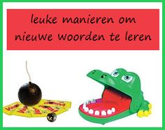 Nieuwe woorden leren School 2017, Pre School, Class Projects, School Projects, Language Activities, Toddler Activities, Learn Dutch, School Hacks, Writing