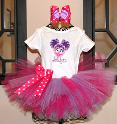 Abby Cadabby Dress | Birthday Boutique Birthday Dresses and Hair Accessories