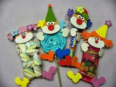 25 Children's day gifts ideas - Aluno On Circus Birthday, Circus Theme, Birthday Parties, Clown Party, Carnival Themes, Party Themes, Kids Crafts, Circus Crafts, Children's Day Gift
