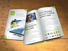 A Flyer for A New TV Service Provider by dadadadamn