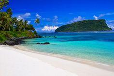 Lalomanu Beach, Samoa Island