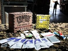 3-Day Zombie Survival Kit