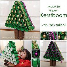 Rolletjes kerstboom