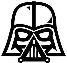 Darth Vader Star Wars Vinyl Decal Sticker Car Truck Bumper Window Sticker Oracle | eBay                                                                                                                                                                                 Más