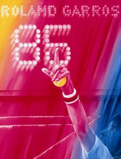 Roland Garros 1985 poster
