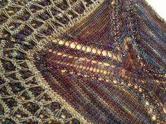Juego by Laura Nelkin. malabrigo Sock, Candombe color.