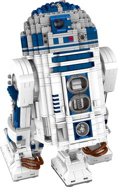 Star Wars R2-D2 Robot Building Block:  Price: $119.99 & FREE Worldwide Shipping.  Visit us and see our 300+ catalog.  We sell toys, materials and costumes with a learning purpose.  Your kids will thank you later!