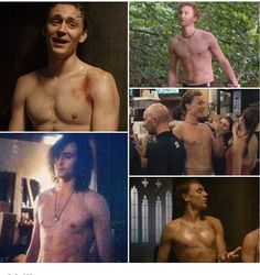 Tom Hiddleston shirtless in Suburban Shootout, #Unrelated, Henry IV. Part Two and Only Lovers Left Alive #Olla | Still not enough!
