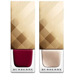 Burberry Holiday 2014 nail polishes: http://sonailicious.com/10-holiday-2014-nail-polish-collections/