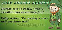Funniest Irish Joke