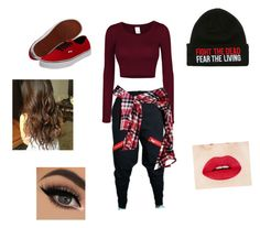 """""""Chrissy's dance performance - inspired by Chachi Gonzales"""" by chrissytate on Polyvore featuring LE3NO, Vans and Joie"""