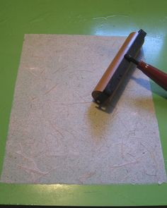 How to back paper or cloth | Byopia Press