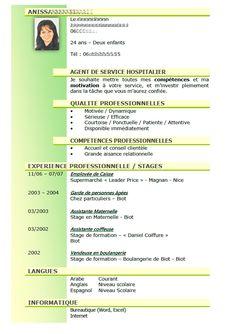 Model Cv Ash Soins Gratuit A Telecharger Modele De Cv Pour Un Emploi D Agent De Services Lotibuckwellterdisc