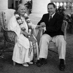 Maria and Mario Montessori