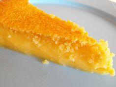 Queijada de limão com amêndoa by a galinha maria, via Flickr