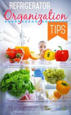 Refrigerator Organization Tips
