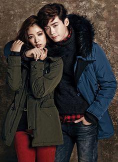 PARK SHIN HYE & LEE JONG SUK ♡ JAMBANGEE'S WINTER 2013