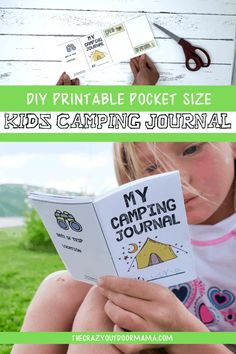 Easy and Cute Kids Camp Journal Printable [Printable PDF]! – The Crazy Outdoor Mama Bring this fun kids camping activity to the next family camp trip so that your child can document and explore camp. Camping Activities For Kids, Camping With Kids, Family Camping, Camping Ideas, Camping Stuff, Camping Tricks, Kids Camping Gear, Camping Gadgets, Camping Recipes