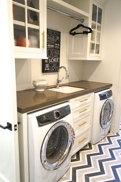Exceptional Built In Laundry/ Custom Cabinets