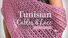 25+ Tutorials, Books and Classes to Learn Tunisian #Crochet