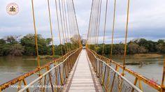 Kattepura Hanging Bridge (The second largest hanging bridge in Karnataka), Konanur, Arakalgud Taluk, Hassan.