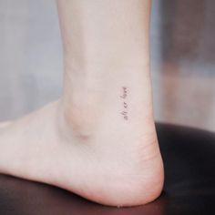30 tattoo's voor de liefhebbers van minimalisme - NSMBL