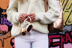 OUTFIT OF THE DAY | All White & Rose Gold