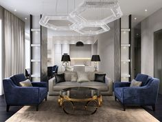 Luxury modern interiors