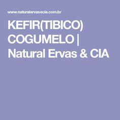 KEFIR(TIBICO) COGUMELO | Natural Ervas & CIA