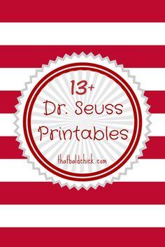 13+ Dr Seuss Printables