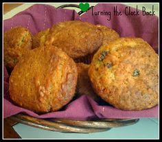 Easy Yogurt Flax Seed Muffins