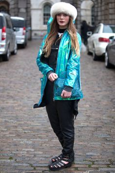 More London Street Style Fall 2014 - LA Social Fashionista