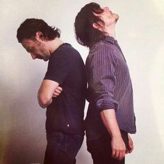 Andrew Lincoln  Norman Reedus