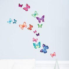 sommerfugle smukke til hjemmet