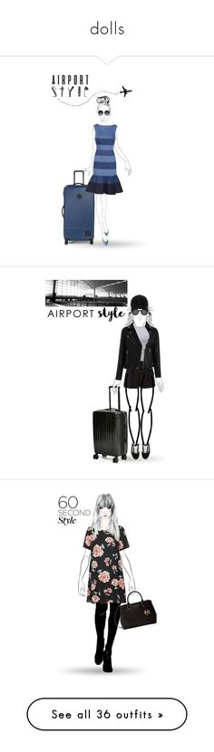 """""""dolls"""" by sebi86 ❤ liked on Polyvore featuring Alice + Olivia, Herschel Supply Co., Carolina Herrera, Gap, airportstyle, Thierry Lasry, rag & bone, Skullcandy, T By Alexander Wang and Boutique Moschino"""