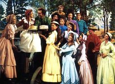 Seven Brides for Seven Brothers...one of my favorite movies from my childhood!