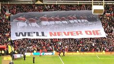 XG produced this giant crowd surf banner for Old Trafford stadium.