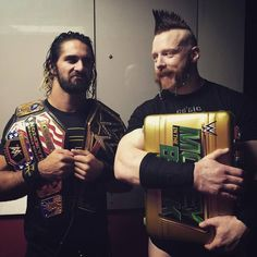 The Champ Seth Rollins and WWE Money in the Bank Sheamus