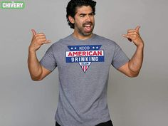86ed287f55e KCCO American Drinking Team Tee. The Chivery