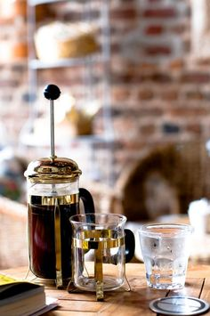French press coffee . . . love it . . . :-)