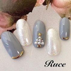 Xmas Nail Art, Xmas Nails, Christmas Nails, Love Nails, Winter Nails, Nail Designs, Make Up, Short Nail Manicure, Nail Manicure