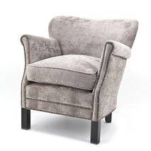 Fauteuil Chantal taupe