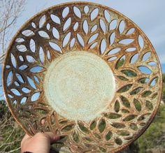 Handmade Centerpiece Bowls | Bowl LUCRETIA - Large Centerpiece - Fresh Fruit Bowl - Handmade ...