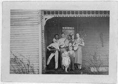 Pete Steele Family by Alan Lomax