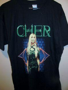2002 CHER tour shirt , Farewell Tour , Large - Apparel