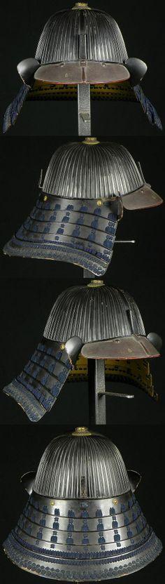 62 plate suji bachi kabuto. School:Saotome. Signature:Joshu Ju Iyenari, first…