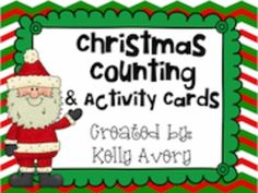This download includes 24 task cards that are sure to help your students review math skills that have been taught already.  Created with a variety of ADORABLE clipart from Scrappin Doodles, your students are sure to get into the Christmas spirit while practicing a variety of math skills....