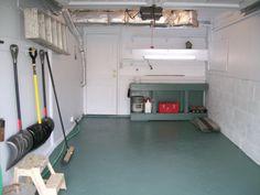 one-car garage